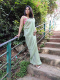 Sequined Green Festive Saree