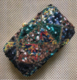 Multi Sequinned Clutch