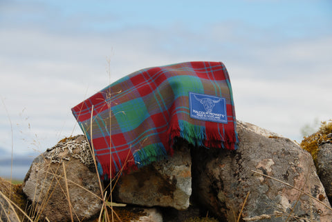 Malcolm Mowat's Worsted Wool Scarf: 'Fionn' - Made in Scotland
