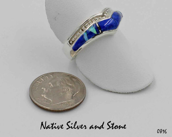 American Eagle Wave Ring