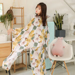 Spring Autumn Women Pyjamas