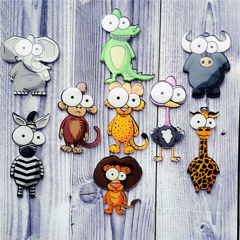 Sale 1pcs Cute Cartoon animal acrylic