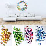 12Pcs/lot 3D Wall Stickers Fridge