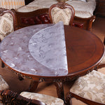 Pvc Waterproof Tablecloth Round tablecloth