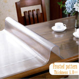 Brand PVC Tablecloth Transparent