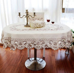 Europe garden table cover beige
