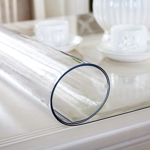 PVC Transparent Waterproof Tablecloth