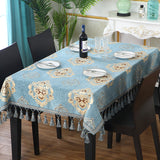 European Luxury Tablecloth Embroidered