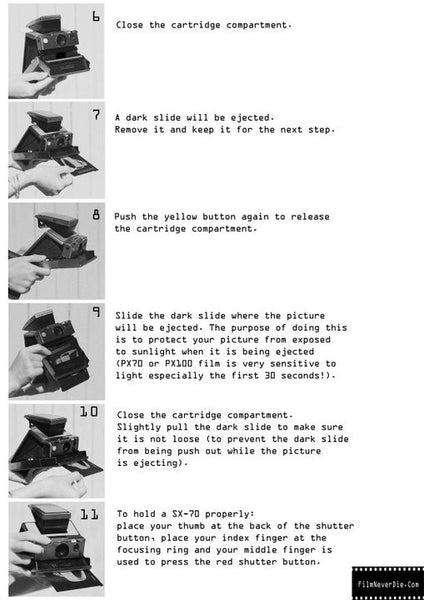 Polaroid Sx-70 Alpha how to use 2