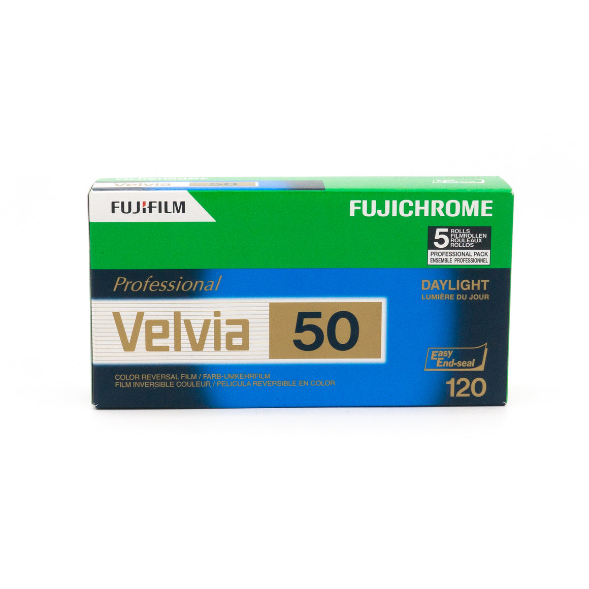 Fujifilm Velvia 50 Colour Slide Film (120)
