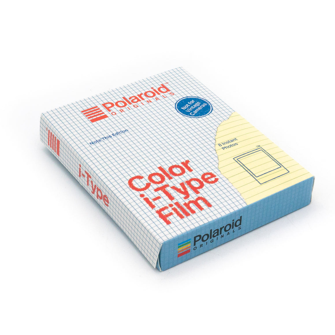 Polaroid Originals i-Type Colour Film - Note This Edition