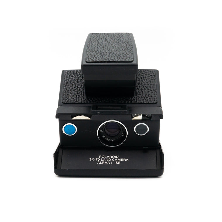 Polaroid SX-70 Land Camera Alpha 1 SE Instant Film Camera (Black)