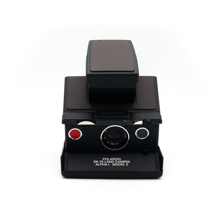 Polaroid SX-70 Land Camera Alpha 1 Model 2 (Brown) Instant Film Camera