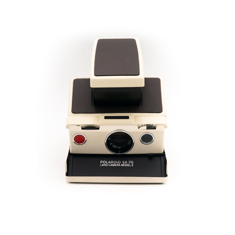 Polaroid SX-70 Land Camera Model 2 Instant Film Camera (Brown)