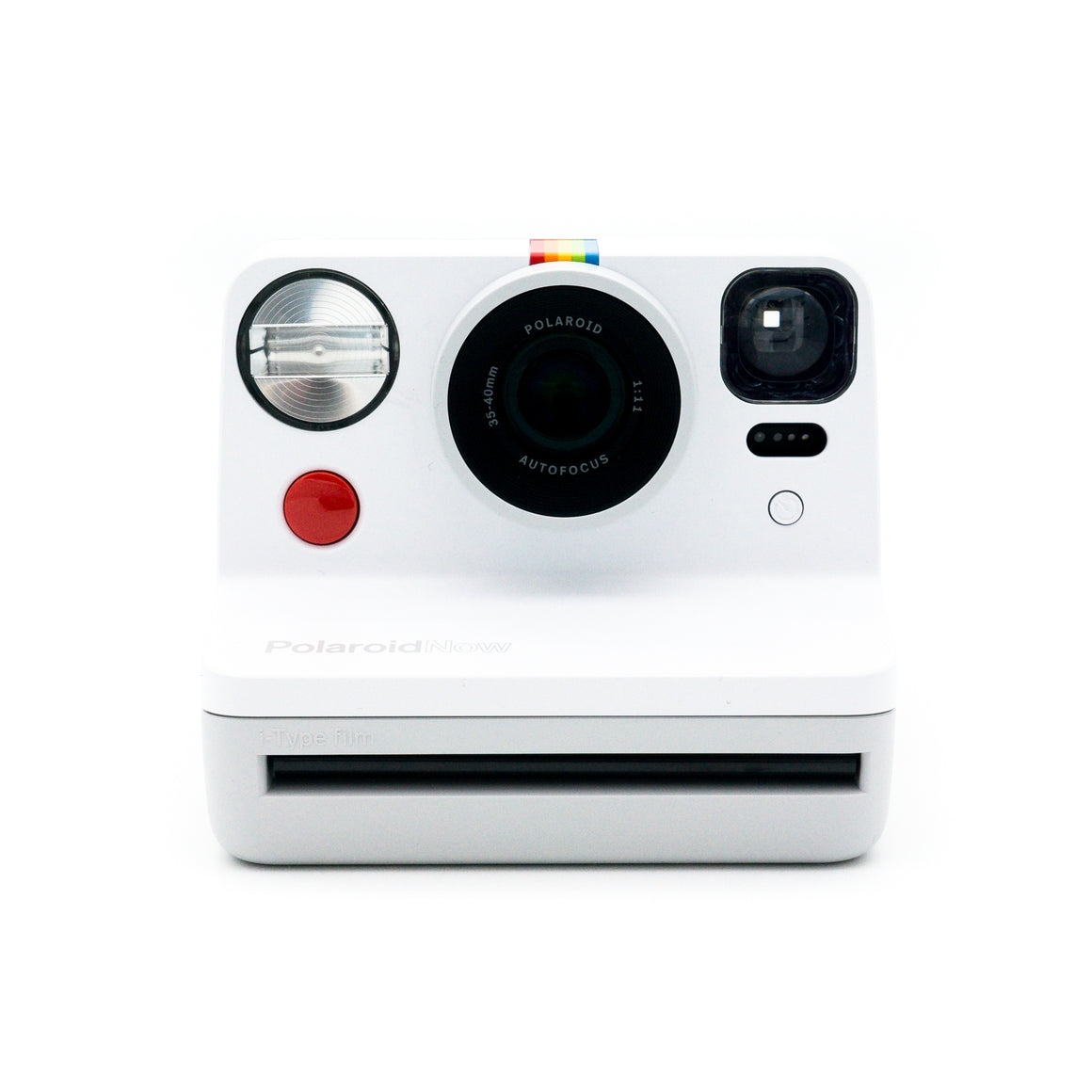 Polaroid Now (White) Autofocus Polaroid Film Camera