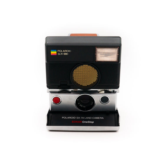 Polaroid SX-70 Land Camera Sonar OneStep Instant Camera