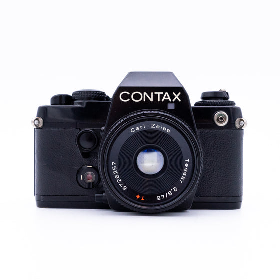 Contax 139 Quartz SLR Camera with Carl Zeiss 45mm f/2.8 Lens