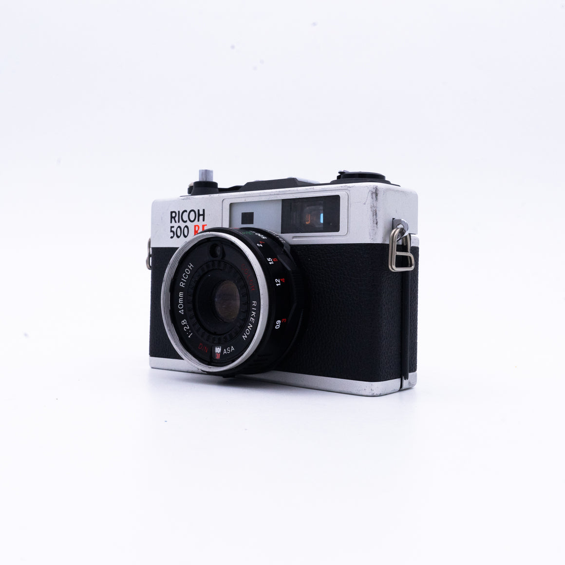 Ricoh 500 RF Rangefinder Camera with 40mm f/2.8 Lens