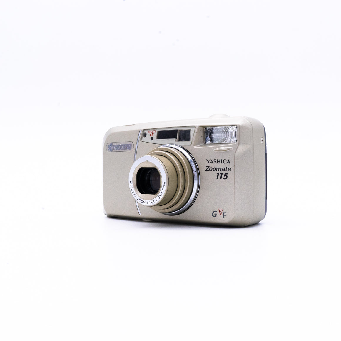 Kycoera Zoomate 115 Point & Shoot Camera with 38-115mm Zoom Lens