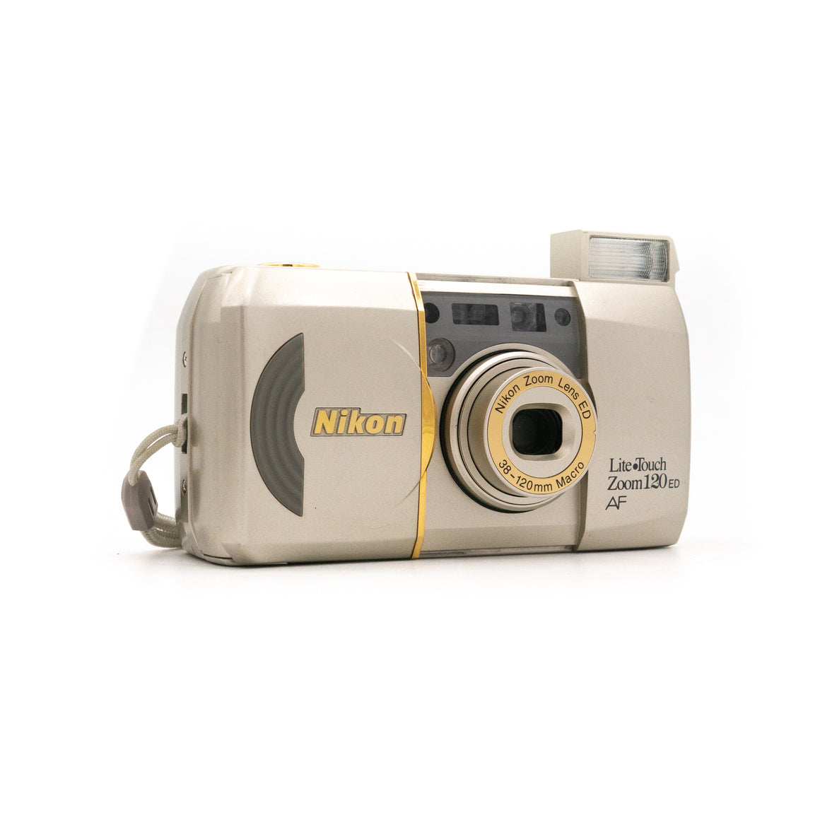 Nikon Lite Touch Zoom 120 Point & Shoot Camera with Nikon 38 - 120mm Zoom Lens