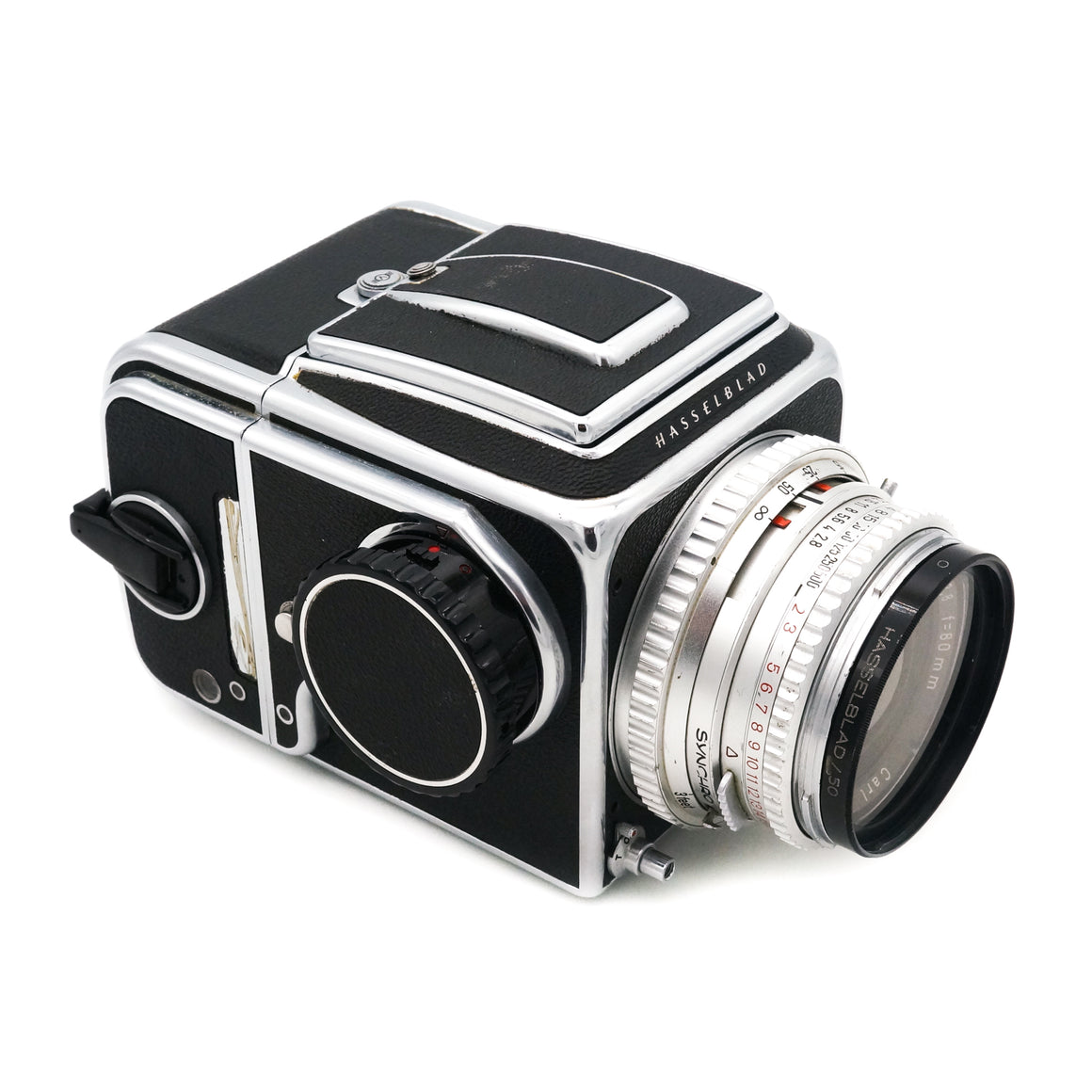 Hasselblad 500 C with Carl Zeiss 80mm f/2.8 Lens