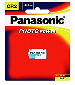 CR2 / Panasonic CR2W /1BE Lithium Photo Battery 3 Volt