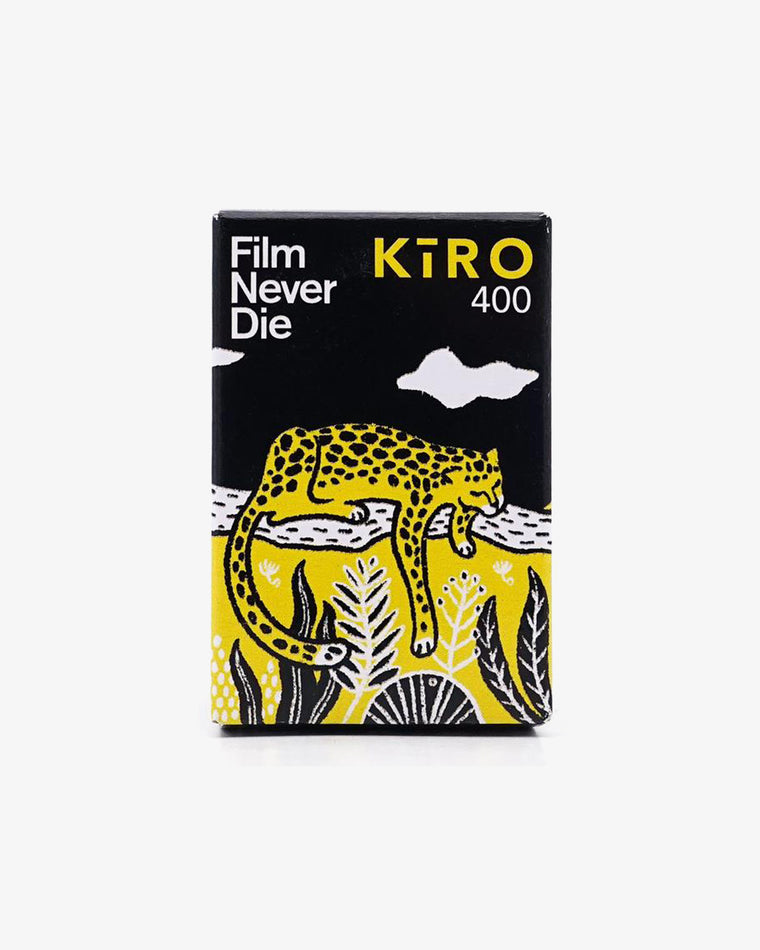 FilmNeverDie KIRO 400 (35mm, 27 exp.) - Limited Stock!