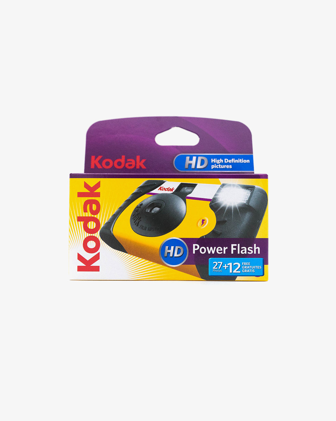 Kodak HD Power Flash Disposable Camera (35mm, 39 exp.)