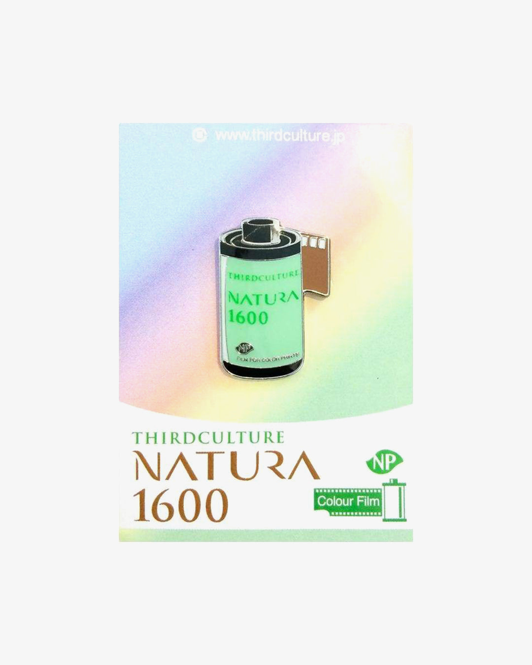 NATURA 1600 35mm Film Pin by Third Culture