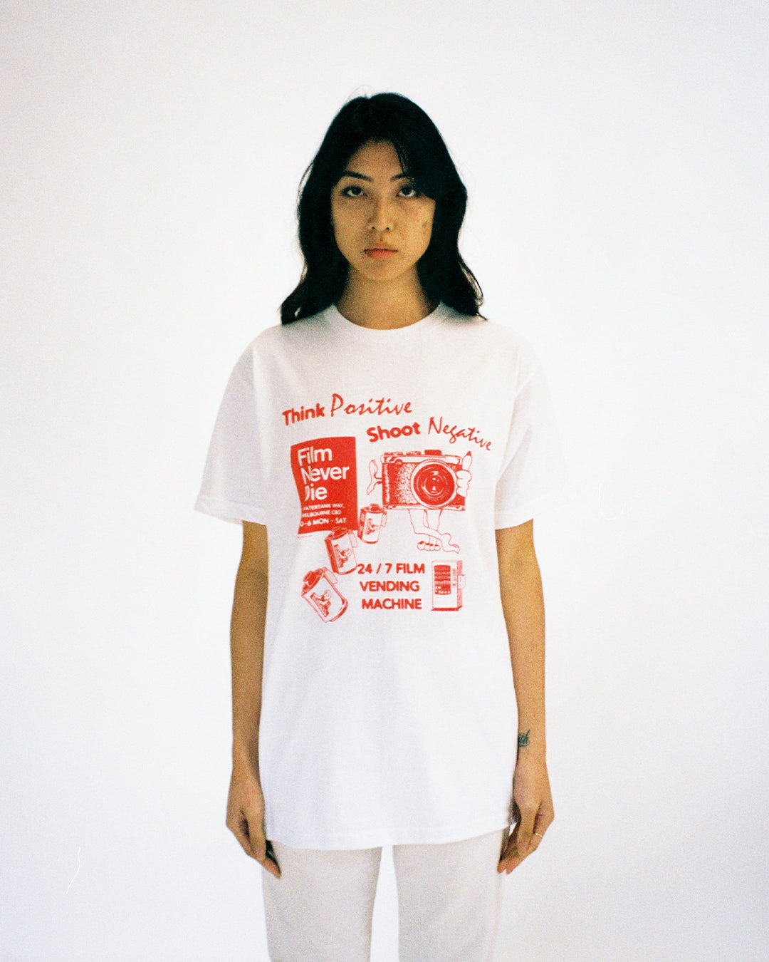 Think Positive, Shoot Negative - T-Shirt