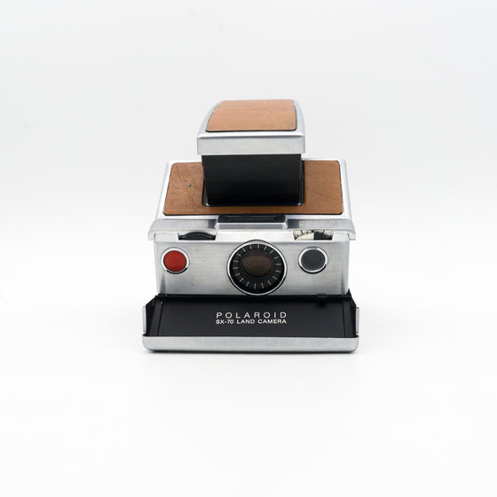 Polaroid SX-70 Land Camera (Silver) Instant Camera