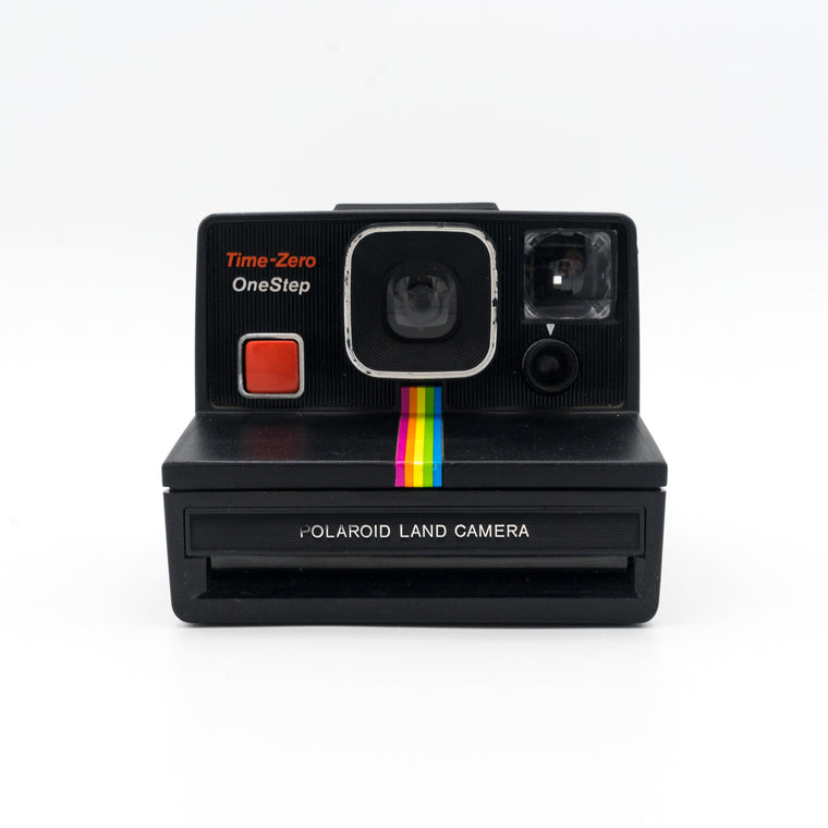 Polaroid OneStep Time-Zero Land Camera (Black)