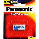 CR123AW 3V LITHIUM BATTERY PANASONIC