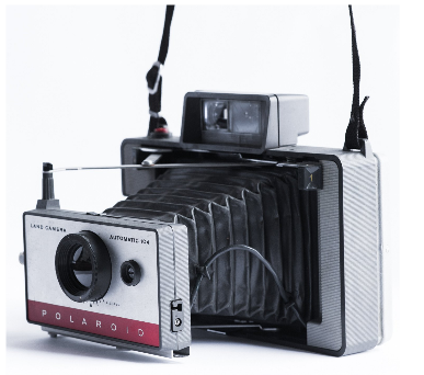Polaroid Land Model 104 Peel-Apart Instant Camera