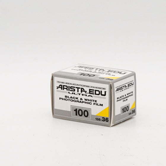 Arista EDU Ultra 100 Black and White Negative Film (35mm Roll Film, 36 Exposures)