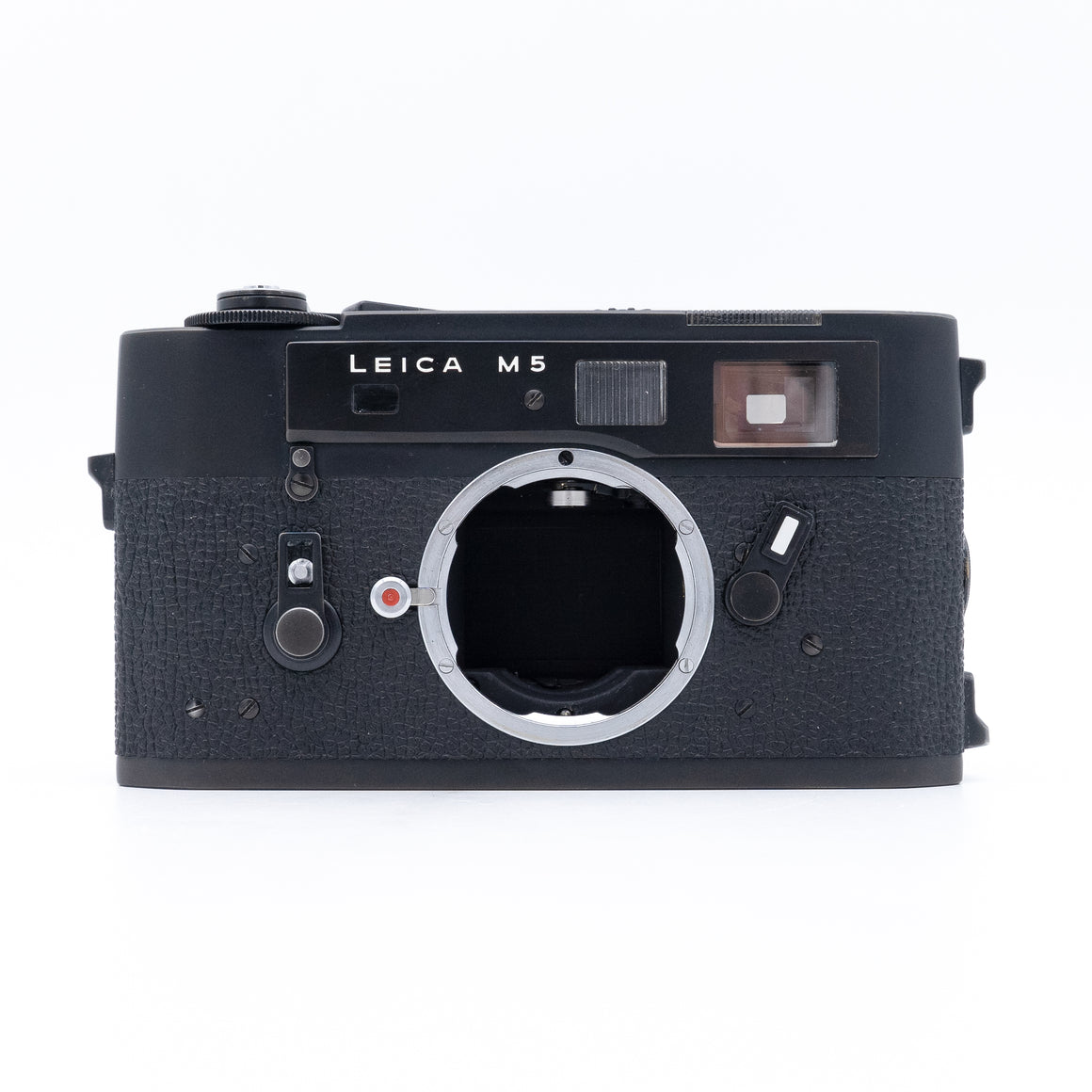 Leica M5 Rangefinder Camera Body Only or with Leica Elmarit-M 28mm f/2.8 Aspherical Lens - Black Lens Kit