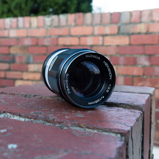 Konica Hexanon AR 135mm f/3.5 Lens for Konica AR Mount