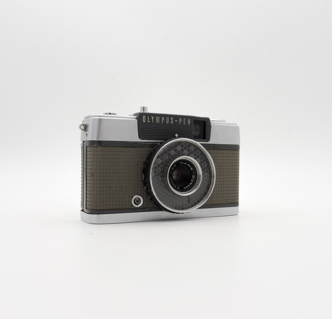 Olympus Pen EE Half-Frame Point & Shoot Camera with 28mm f/3.5 Lens