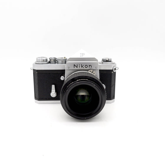 Nikon F SLR Camera with Nikkor 35mm f/1.4 Lens