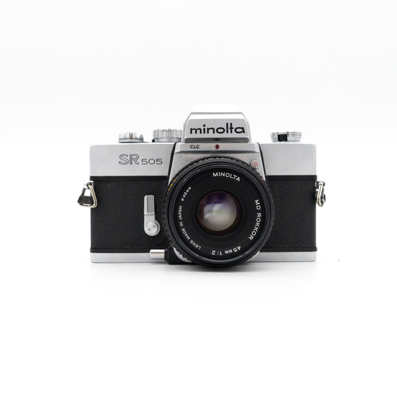 Minolta SR505 SLR Camera with 45mm f/2 Lens