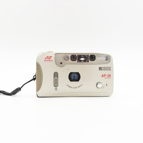 Ricoh AF-28 35mm Point and shoot camera with 28mm