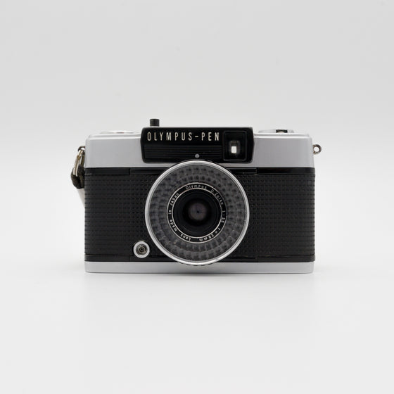 Olympus Pen EE-3 Half-Frame Point & Shoot Camera with 28mm f/3.5 Lens