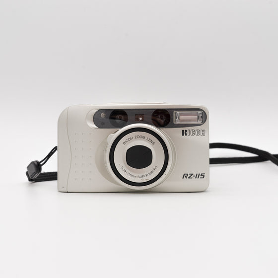 Ricoh Rz-115 35mm Point and Shoot camera with 38-115mm