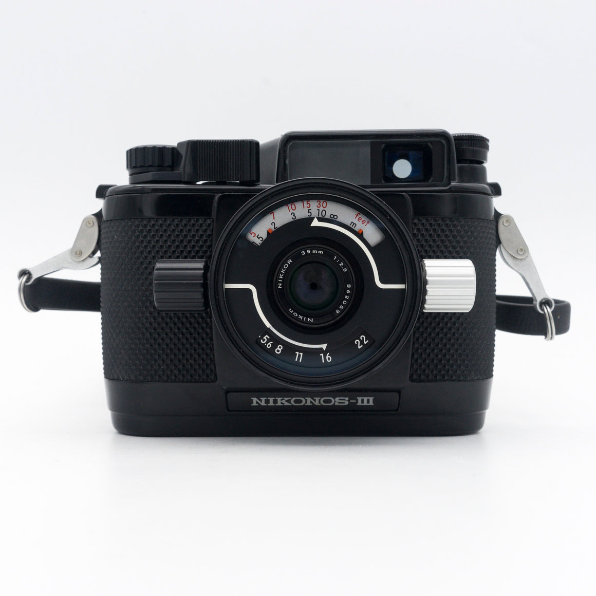 Nikonos-III 35mm Underwater Point & Shoot Camera with Nikkor 35mm f/2.5 & 80mm f/4 Lenses