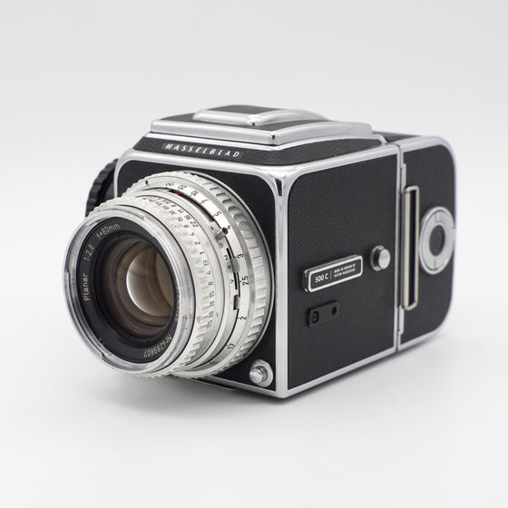 Hasselblad 500 C Medium Format Camera with 80mm Planar 2.8