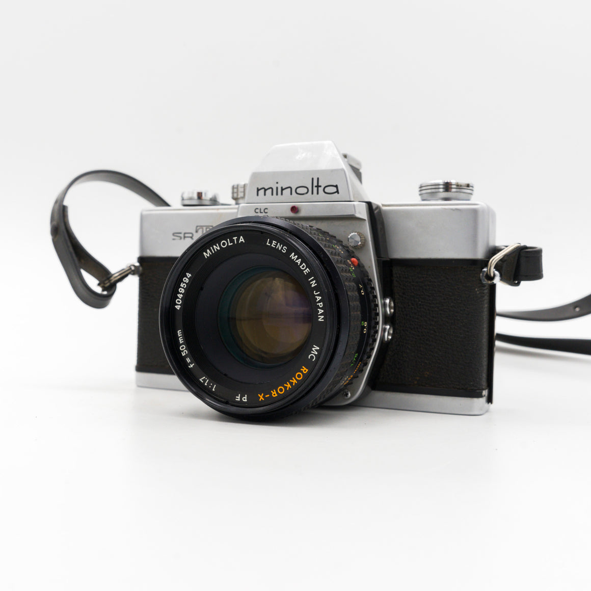 Minolta SRT 101 SLR Camera with 50mm f/1.7 Lens