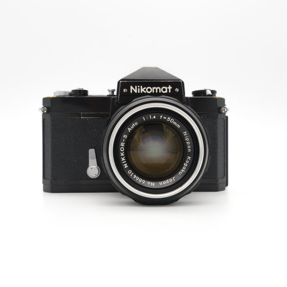 Nikon Nikomat FT SLR Camera with Nikkor 50mm f/1.4 Lens