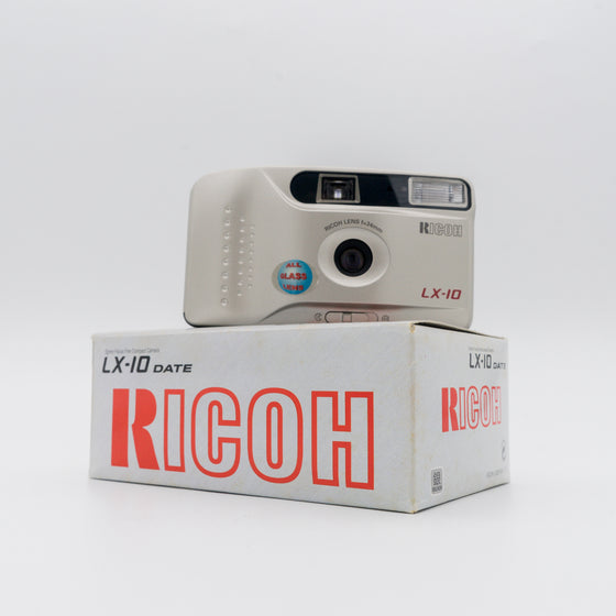 Ricoh LX-10 35mm f/5.6 point and shoot camera with 34mm lens