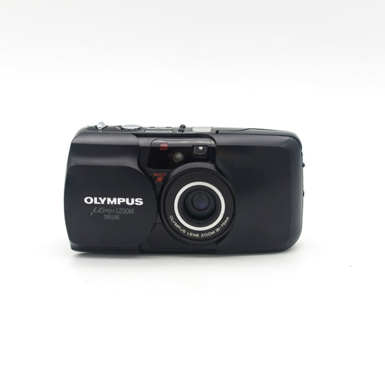 Olympus M[mju:] ZOOM DELUXE Point and Shoot camera