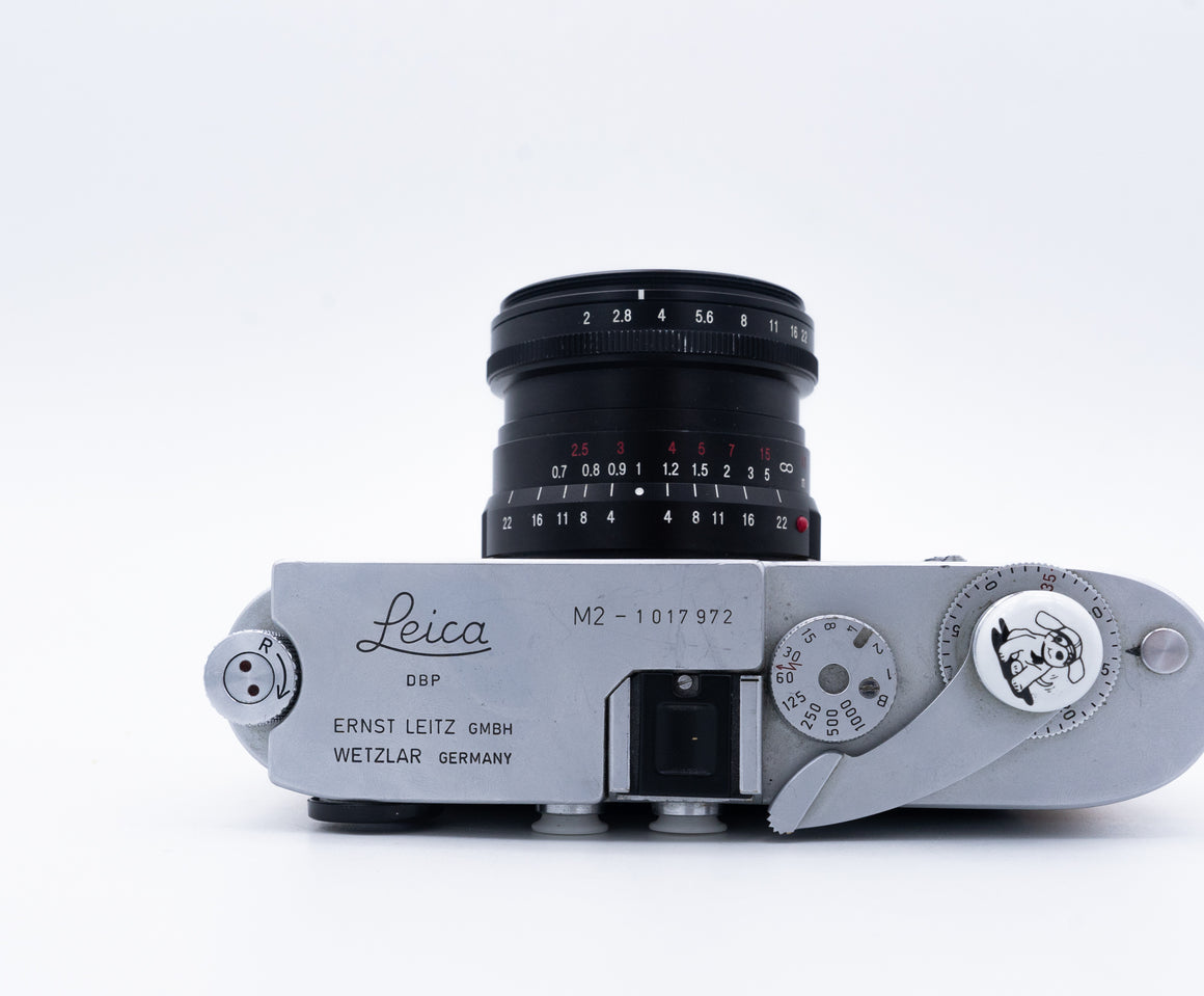 Leica M2 Rangefinder Camera with Voigtlander Ultron 28mm F2 or Body Only